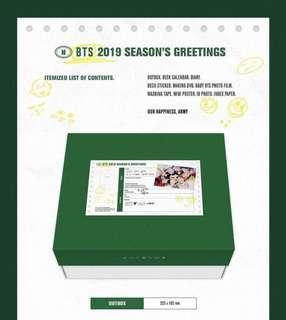 BTS - SEASON's GREETINGS 2019