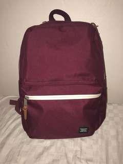 ❤️Herschel Burgundy Backpack
