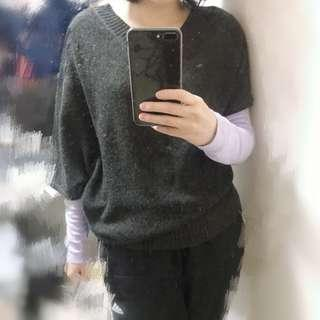 不對稱毛衣