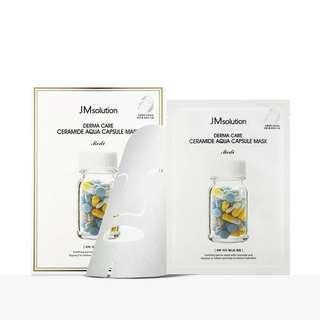 🚚 JM Solution Derma Care Ceramide Aqua Capsule Mask