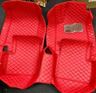 BNIB Honda Civic 10th Gen 3D Car Mat (RED)