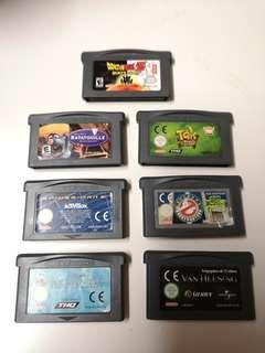 Pick 1pc Gameboy Advanced Game Cartridges