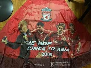 LFC Cloak (The Kop Comes to Asia 2009)