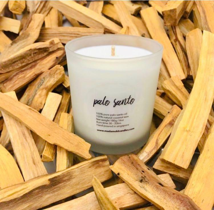 1 Palo Santo, Coconut Wax Candles, Palo Santo Candle, Design