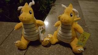噴火龍公仔 兩隻 Pokémon
