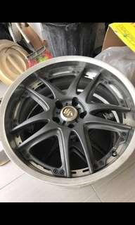 Volk racing rim  gt-v 19 make in japan