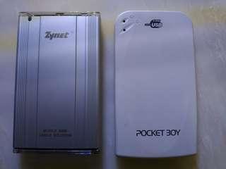🚚 2.5吋IDE硬碟40G+80G兩顆