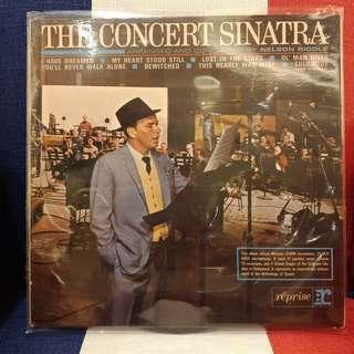The concert Sinatra  (1963 )Lp 《法蘭克辛納區1963演唱會》FrankSinatra原版黑膠唱片*1張