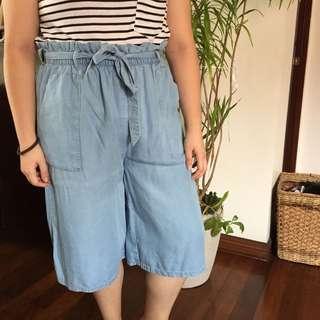 Vero Moda Blue Culottes