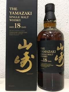 山崎18年700ml連盒日本版