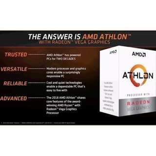 AMD ATHLON 200GE 3.2GHZ PROCESSOR