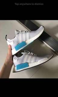 Adidas NMD White Cyan