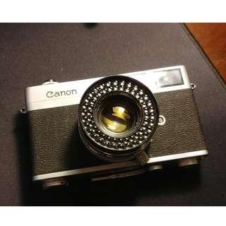 AS IS Canonet Original f1.9 Rangefinder 35mm camera