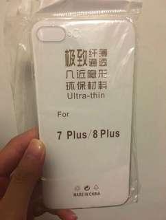 全新 iphone7plus/8plus 5.5寸 透明 手機軟殻
