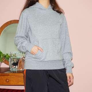 Uniqlo grey hoodie sweater