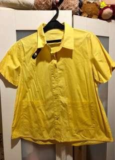 Yellow Comfy Blouse