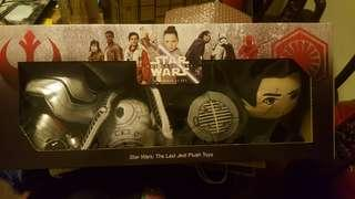 Star wars the last jedi plush toys