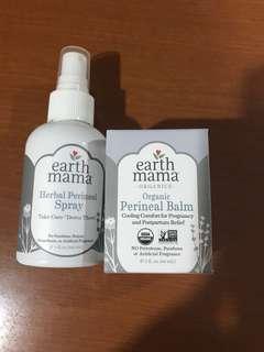 Earth mama perineal spray and balm