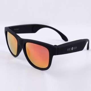 8781262e4b Bone Conduction Wireless Bluetooth Headphones Polarized Sunglasses