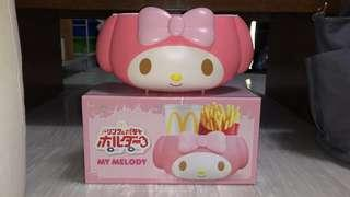 Brand new mcdonald japan melody container - rare