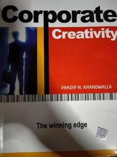 Corporate creativity the winning edge
