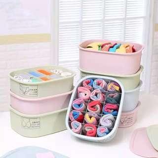 Undergarments Plastic Storage Box
