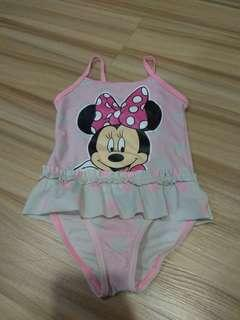Baby Girl Swimsuit minnie mouse size 2