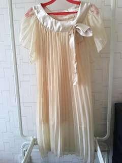 Chiffon dress free size