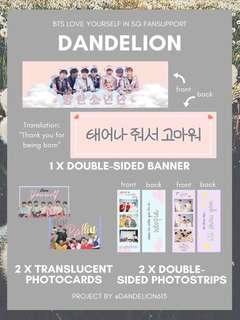 🚚 BTS Love Yourself in SG Fanpack