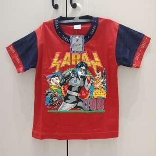 New! Kaos Anak 4-5 tahun Merah