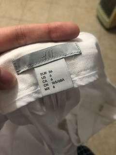 celana putih HnM