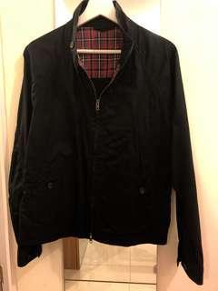 M size muji black cotton jacket