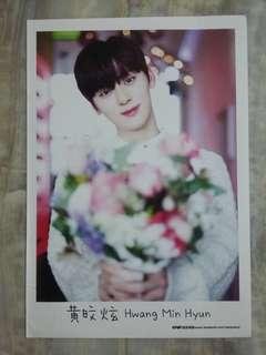 Epop Mini Poster 2018-Hwang Min Hyun(laminate)