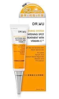 Dr. Wu Whitening spot treatment with vitamin C+