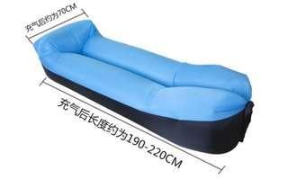 聖誕大減價!新款格仔布充氣梳化/沙發