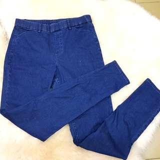 Uniqlo Heatech Denim Jeans Pants #FEBP55