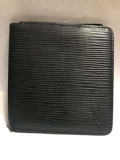 LV Epi 黑色 Wallet 銀包 Louis Vuitton