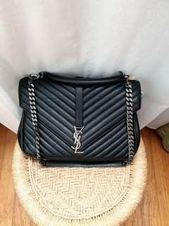 YSL College Black Large Shw (full set with receipt)