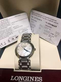 Longines Mop dial with diamonds