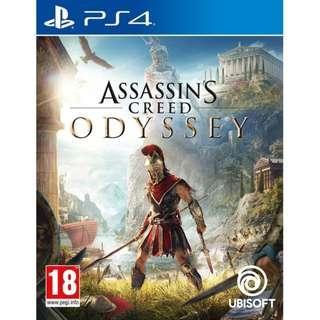 PS4 Assassin's Creed Odyssey  (English Version) / PS4 刺客教條 奧德賽 (英文版)
