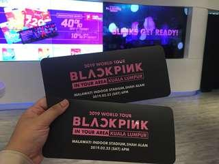 WTS BLACKPINK TICKETS CONCERT 2018
