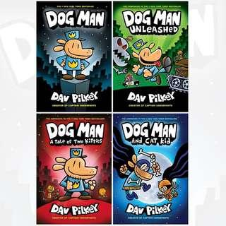 🚚 Dog Man Collection by Dav Pilkey - 4 Books Set