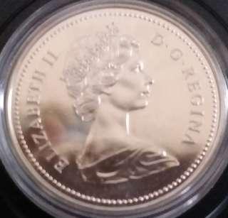 加拿大精裝纪念幣1874一1974。有盒