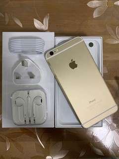 iPhone6 plus 128gb gold