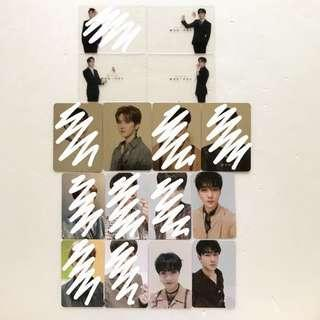 looking for | nu'est w photocards