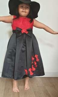 Chrismas Dress Red and Black