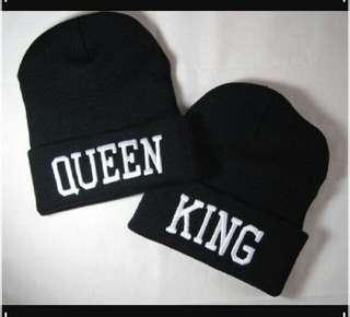 King & Queen Couple hats