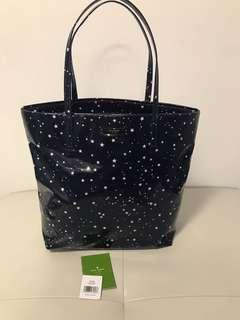 Brand New Authentic Kate Spade Stars Tote