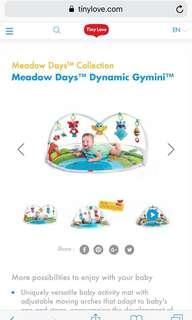 Tiny Love Dynamic Gymini, Meadow Days twins baby large play gym mat