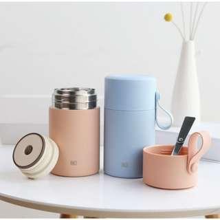 🚚 CHRISTMAS SALE 25% OFF 🎉🎉 1001 Korea FACE Simple Portable Insulated Food Jar